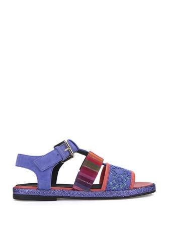 Geox blue Kolleen Sandal 95FF1SHC745454GS_1