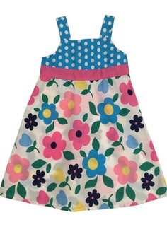 Dots and Floral Sundress