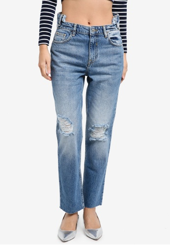 Mango blue Cameo Relaxed Jeans 98745AA9389406GS_1