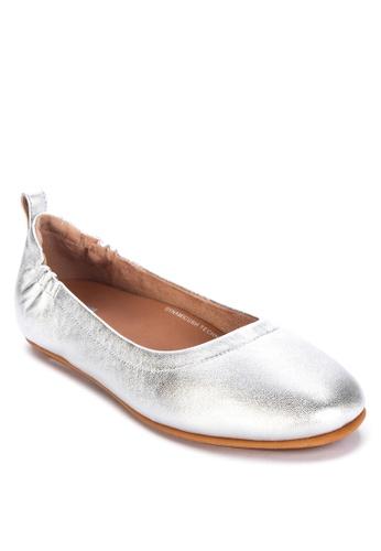 FitFlop silver Allegro Ballerinas 74E78SH750EBB2GS_1