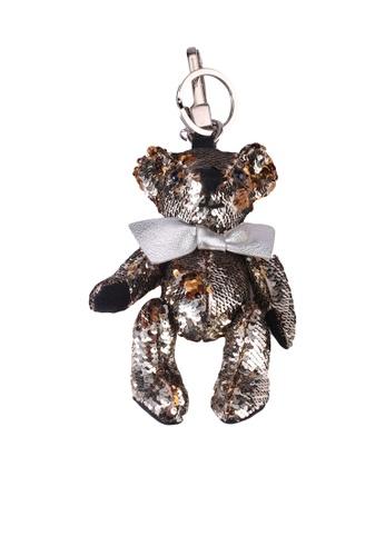 Burberry silver Bear Keychain (oc) DCE7FAC769EDA0GS_1