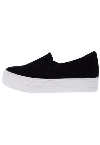 Maxstar C7 30 Synthetic Cotton White Platform Slip on Sneakers US Women Size MA168SH61DXYHK_1