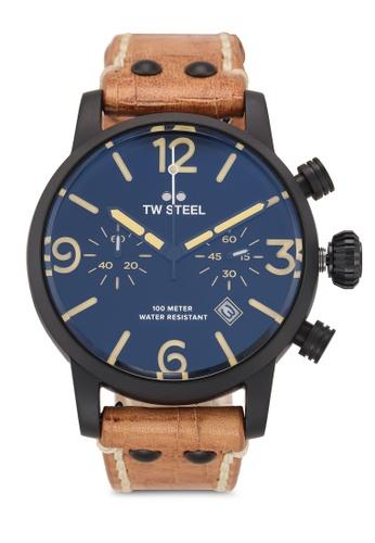 TW Steel brown Maverick MS33 Watch 6C88FAC5260E25GS_1