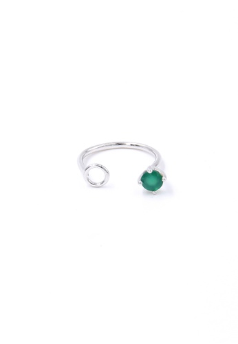Jewcells green TRYNGO Birthcells May Ring JE724AC2W995HK_1