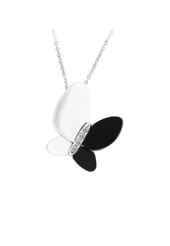 OUXI silver OUXI Necklace 11392 OU821AC25TXMMY_1