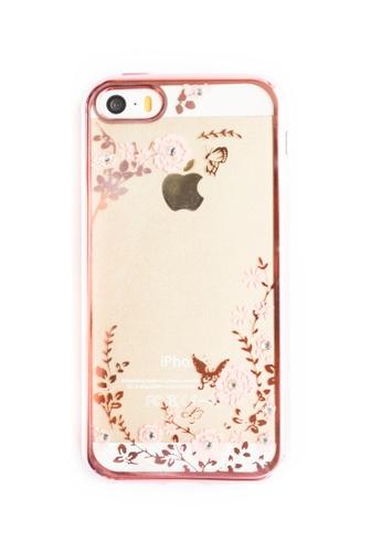 Fancy Cellphone Cases multi Garden Soft Transparent Case for iPhone 5/5s/SE  FA644AC79QWQPH_1