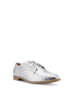 bac00ff14c72 14% OFF Dorothy Perkins Silver Lanka Lace Up Shoes HK  320.00 NOW HK   274.90 Sizes 3 4 5 6 7