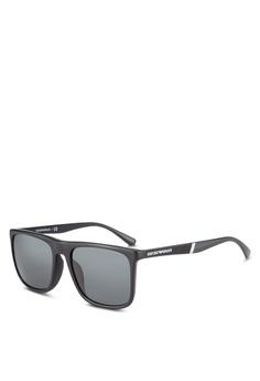 8eb55e3368 Emporio Armani black Black EA4097F Sunglasses EM212GL0RNIGMY 1