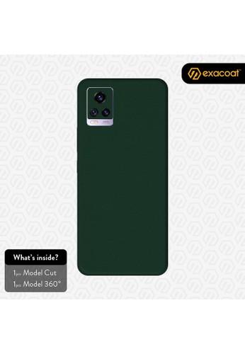 Exacoat Vivo V20 3M Skins True Colors - Emerald Green 311D2ES58E5DE8GS_1