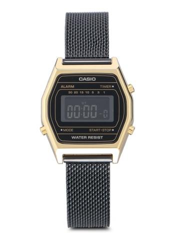 Casio 黑色 Casio LA690WEMB-1BDF 手錶 0E90DACAEF1A74GS_1