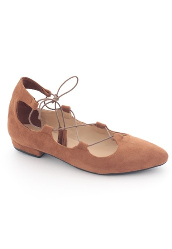 MINKA brown ARIA Brown Lace Up MI006SH07IFOID_1