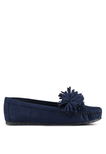 Noveni navy Tassled Loafers 941DESH36FC520GS_1