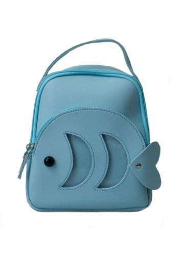 Adkidz blue Adkidz mini fish backpack 5030BKCA2D6423GS_1