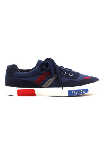 New York Sneakers navy Brantz Low Cut Shoes NE675SH04KFNPH_1