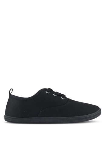 ONLY black Seline Plain Sneakers F1A64SHA1BC459GS_1
