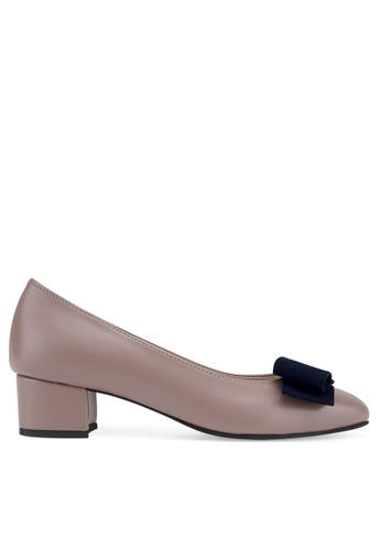 SPUR pink Retro Bow Heels 9AE03SHE930CD7GS_1