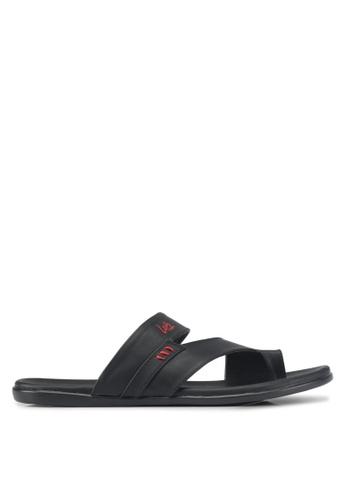 Louis Cuppers black Casual Sandals E89FESH913239DGS_1