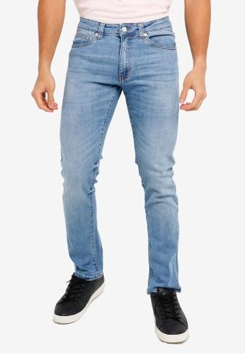 Electro Denim Lab blue Calypso Slim Jeans 60AE9AA4C6F4C3GS_1