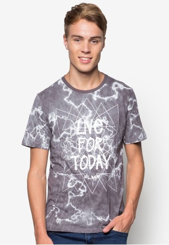 圖文棉質T 恤, 服飾,京站 esprit 印圖T恤