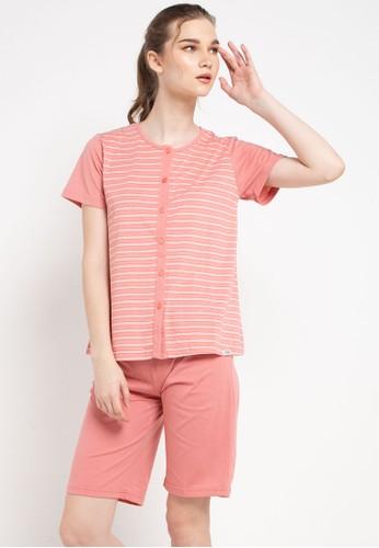 Puppy multi Pyjama Pijama Short Sleeve Short Pants Sleepwear A2B3DAAB56653DGS_1