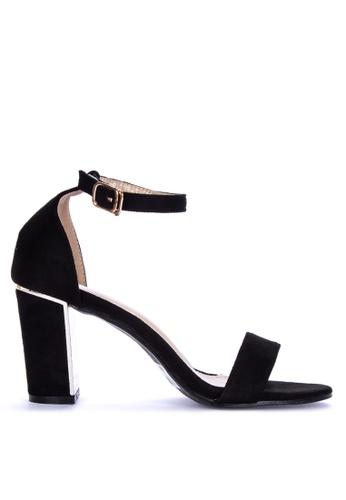 bb718c27852 Shop Rock Rose Suede Block Heel Sandals Online on ZALORA ...