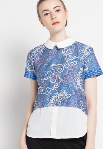 bhatara batik blue Ashley BH237AA92ZQPID_1