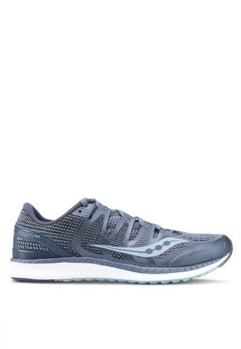Saucony grey Liberty ISO Shoes SA304SH0SW55MY_1