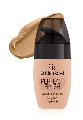 GOLDEN ROSE yellow PERFECT FINISH LIQUID FOUNDATION - #57 GO743BE00FLZMY_1
