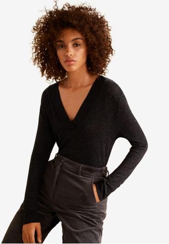 Mango grey Lightweight Knit T-Shirt 6C2E2AA59CBBFDGS_1