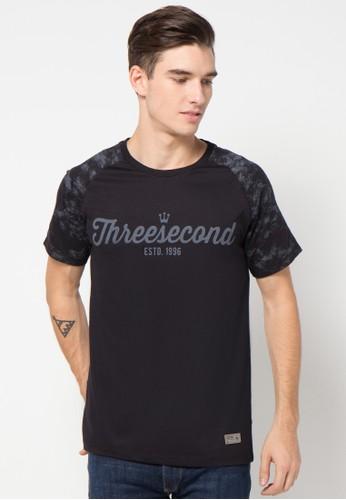 3SECOND King Logo Handwrite Printed Tess
