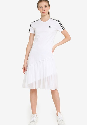 ADIDAS white tulle dress 478EEAA180FCCDGS_1