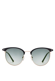 d1af8f0323f Carin black and grey and gold Carin Henie C1 Half-Frame Sunglasses  4DDBDGL1573C9BGS 1