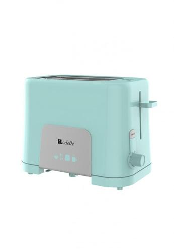 Odette pink Pastel Color 2-Slice Bread Toaster (Mint) 216D9HLBE932C7GS_1