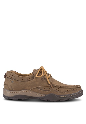 Louis Cuppers brown Casual Moccasins LO977SH10AXXMY_1