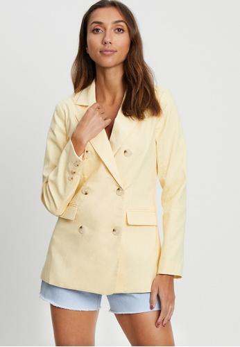 Calli yellow Sunshine Blazer 2E29BAA169CEC8GS_1
