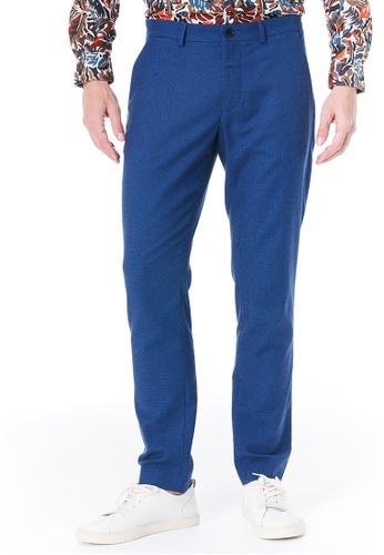 Sisley navy Cropped Pants EE06CAA26E5289GS_1