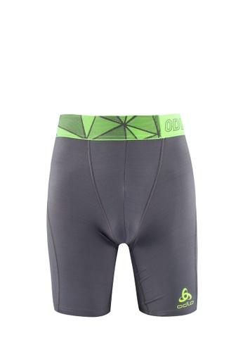 Odlo grey Ceramicool Pro Shorts OD608AA0S11QMY_1