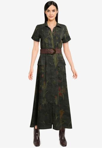 Desigual green Amsterdam Dress 28642AAE206253GS_1