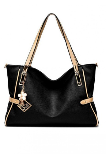 TCWK black Ladies Handbag TC258AC78GCVMY_1