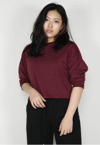 NOOB purple Sweater Crop Ungu C5E67AA68E9DD8GS_1