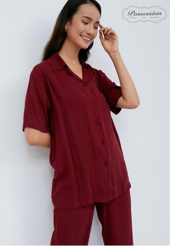 Possession red Possession Pajamas Hanna Set 9104 MR 80741AAE663E36GS_1