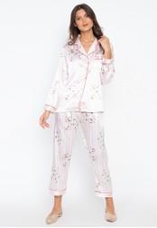 FEMINISM pink Longsleeve PJ Set 2D910AA95ADBA3GS_1