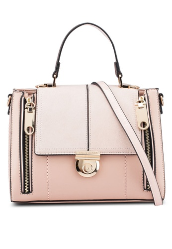 River Island Pink Light Lock Fastening Crossbody Bag 80703ac5f192bcgs 1