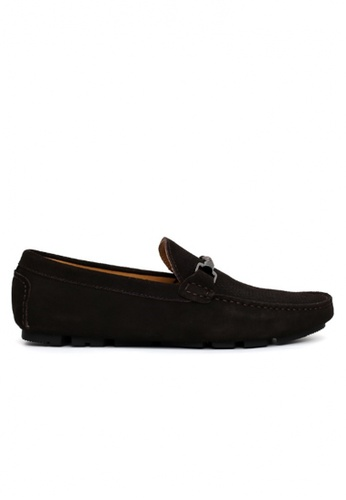 Gino Mariani brown Gino Mariani Men's Leather Shoes BELENCO - DARK BROWN DD1F8SHDFE6579GS_1