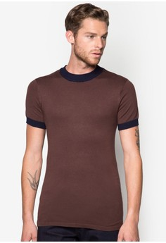 Fully Fashioned Welted Tee