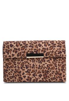 Leopard 人造麂皮 皮包