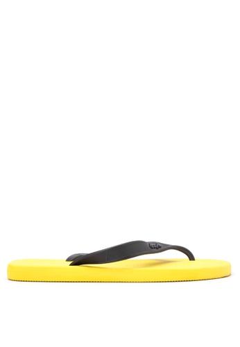 Dupe yellow Aftersport Flip Flops DU626SH14VVLPH_1
