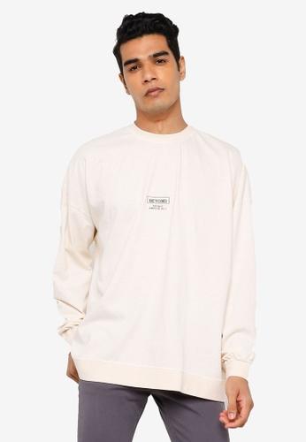RAGEBLUE white Graphic Sweatshirt 1CF15AAFA61AD8GS_1