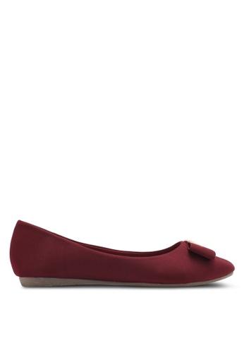 Alfio Raldo red Ballerina Flats AL803SH0SL2LMY_1