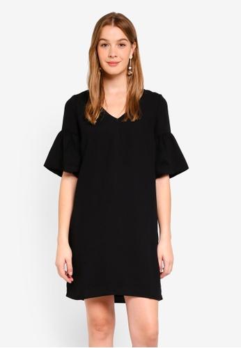 Vero Moda black Lee Short Dress 6EC88AABBCE641GS_1